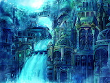 Magic city underwater city fantasy