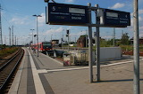 Train Station in Germany
