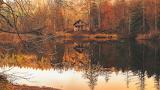 Autumn Fall Cottage
