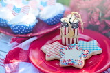 ^ July 4 patriotic picnic