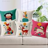 cushions-animals
