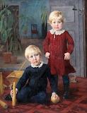 Helene Schjerfbeck, Portrait of two children