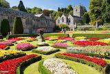 Formal garden 1600's house England