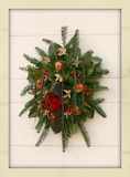 ^ Shoe Wreath, Shoemaker's Shop, Colonial Williamsburg, Williams