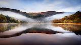 Saltire Clouds, Scottish Highlands