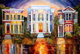 Town houses in Charleston