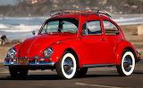 1967 Volkswagen Beetle Red VW Bug