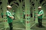 Petřín, labyrinthe de miroirs, CZ