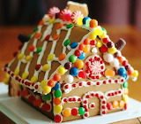 #Cute Little Gingerbread House