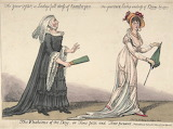 Caricature Bum-be-seen 1808
