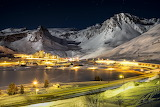 Winter Village Tignes in Mountains of France