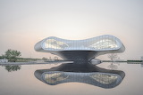 "Architecture archdaily ""Shimao-The Wave Showroom"" ""Lacime Archit"