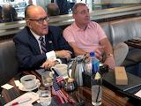Rudy & Lev having coffee today.