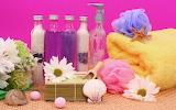 Colorful spa