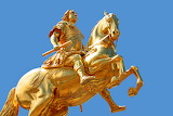 The Golden Horseman Dresden Germany