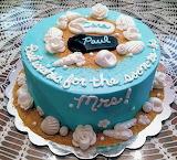 Engagement cake @ Dee-Va Cakes
