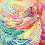 Swirling angel
