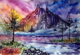 Mountain landscape by annaarmona-d7cn78n