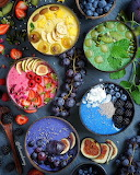 Rainbow Fruit Bowls