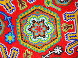 Beautiful, intricate and colorful beadwork