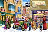 Santa enters Bournville town