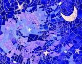 starry night abstract art