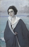 Romaine Brooks, Au Bord de la Mer, self portrait, 1914