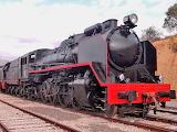 Steam locomotive 2-8-2 Spain