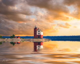 Mackinac Island Round Island by Jimmy Taylor