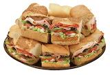 ^ Subway sandwich platter