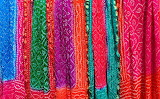 Colours-colorful-indian scarfs