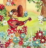 Ana y las flores