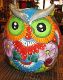 Pottery owl color