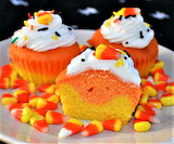 #Candy Corn Cupcakes