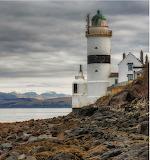 Cloch Point Lighthouse near Gourock in Inverclyde - Scotland