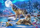 winter-wolf-family