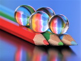Pencils and marbles
