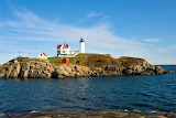 Sunny day Nubble Lighthouse New York