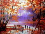 Jesień nad jeziorem - Miroslaw Szeib