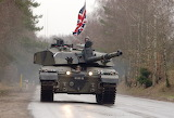 Challenger 2 Tank from Royal Scots Dragoons