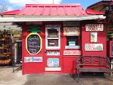 Kiosk selling drinks-Kauai-Hawaii