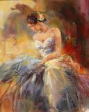 Danseuse-peinture