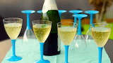 Sparkling wine-drink toast