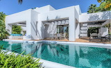 Beautiful white modern finca and pool