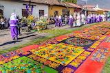 Guatemala, Antigua, Semena Santa festival