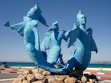 Mermaids of Hammamet, Tunisia