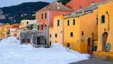 Old-Saracen-village-storm-Varigotti-Liguria-By-Carlo-Lovisolo