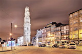 Clerigos Tower by night Portugal