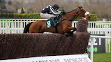 Imperial Aura and David Bass 2020 Novices' Handicap Chase