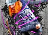 ☺♥ Skateboarding, street art...